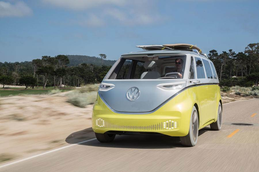 Volkswagen ID Buzz electric MPV image gallery