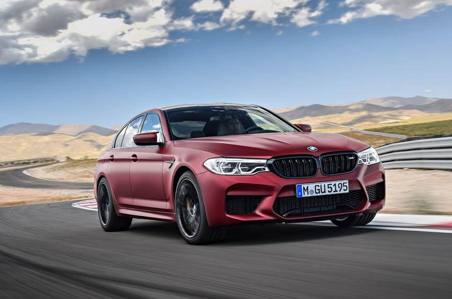 New 2018 BMW M5 image gallery