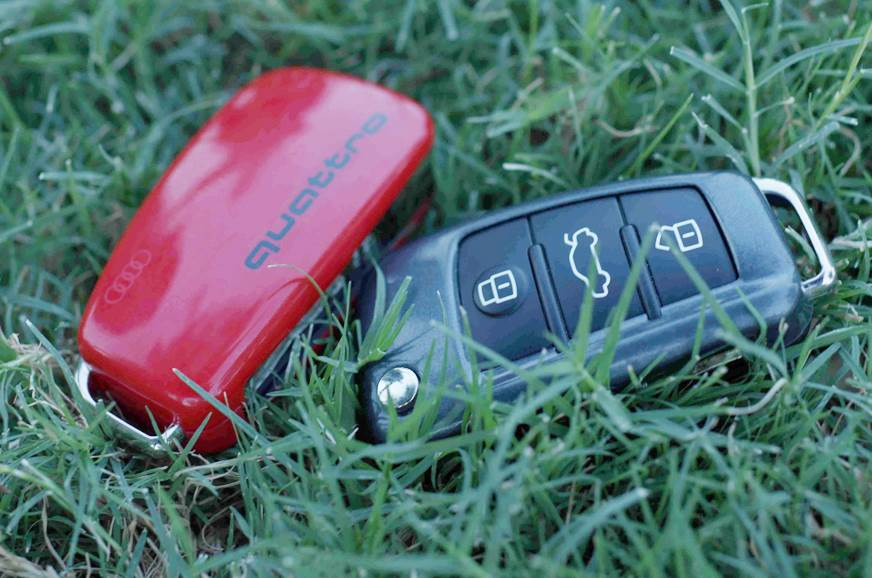 Audi Q3 Design Edition key