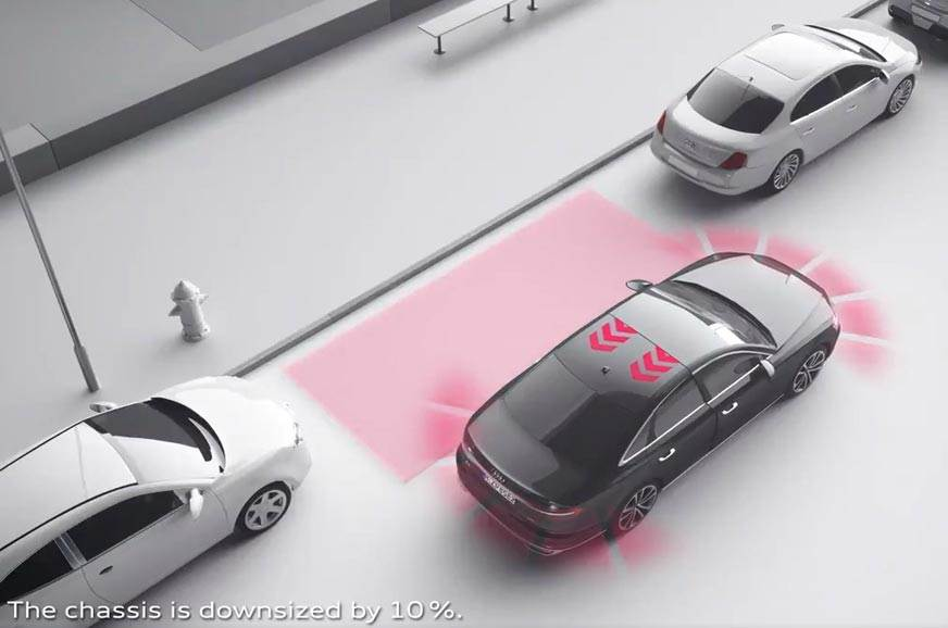 Audi Downsizing assistant