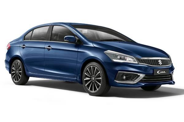 2018 Maruti Suzuki Ciaz facelift front studio