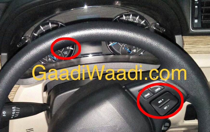 Maruti Suzuki Ciaz petrol cruise control