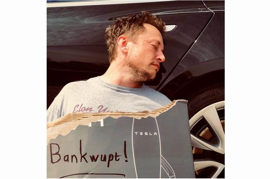 Elon Musk bankruptcy