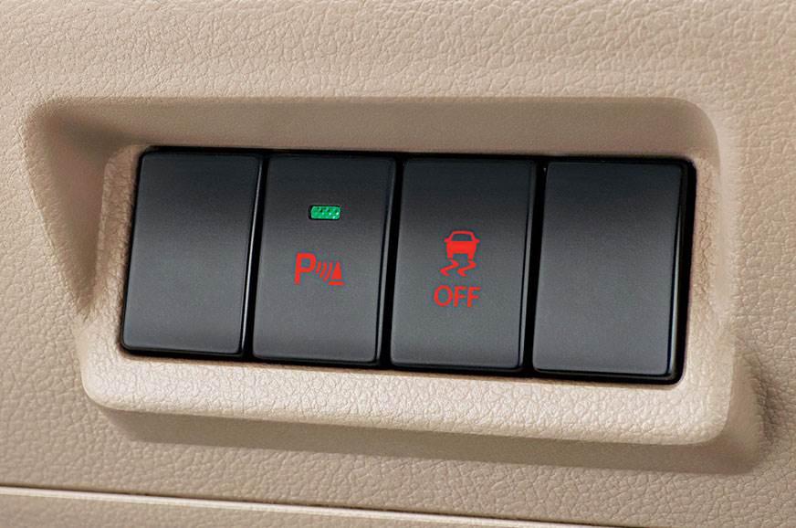 Maruti Suzuki Ertiga parking