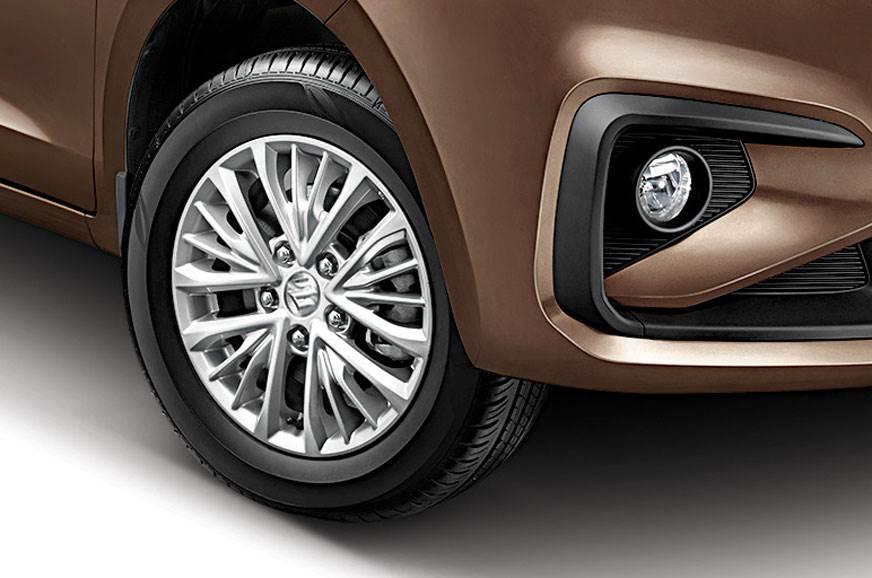 Maruti Suzuki Ertiga alloy wheels
