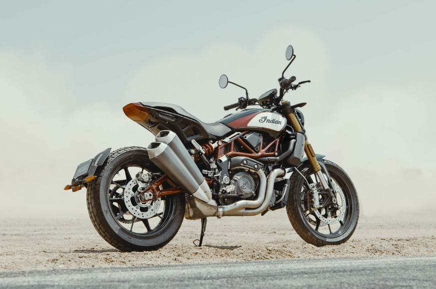 Indian FTR1200 flat track motorcycle launched