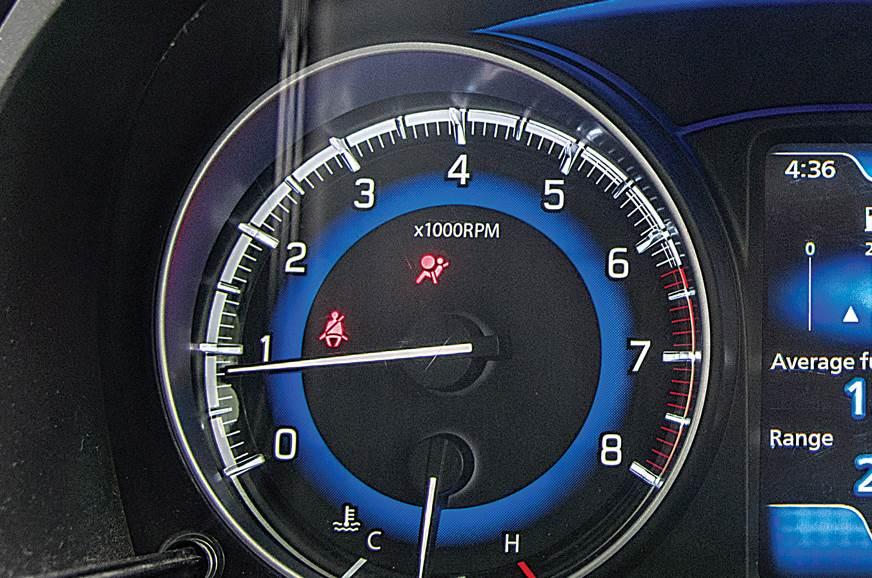 Maruti Suzuki Baleno tachometer