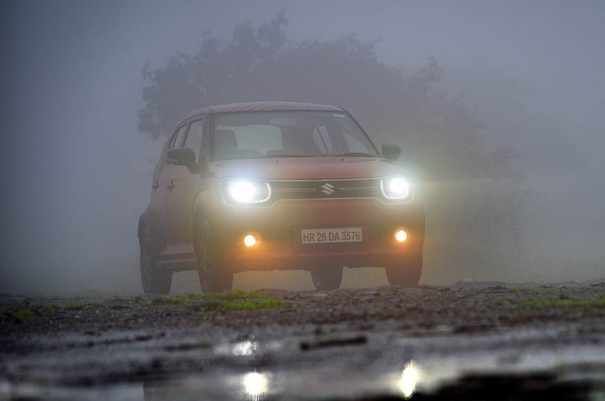 Maruti Suzuki Ignis fog