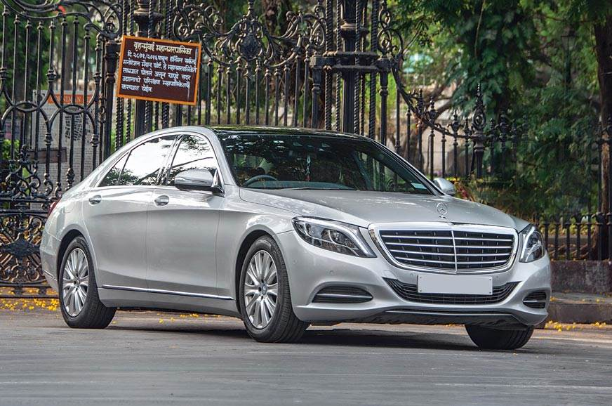 Pre-facelift Mercedes-Benz S-class