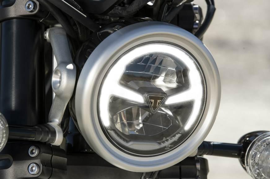 Triumph Scrambler 1200 LED headlight