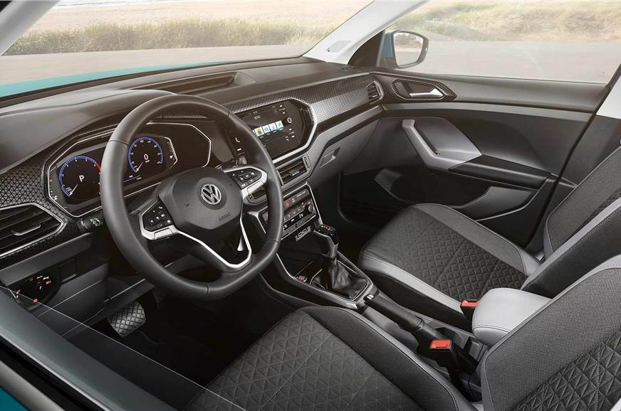 VW T-Cross interior