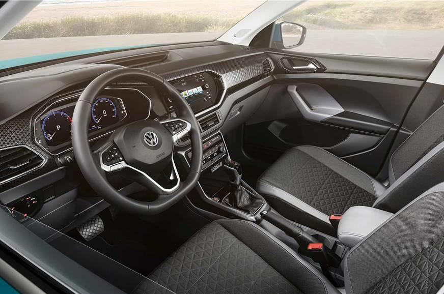 VW T-Cross interior