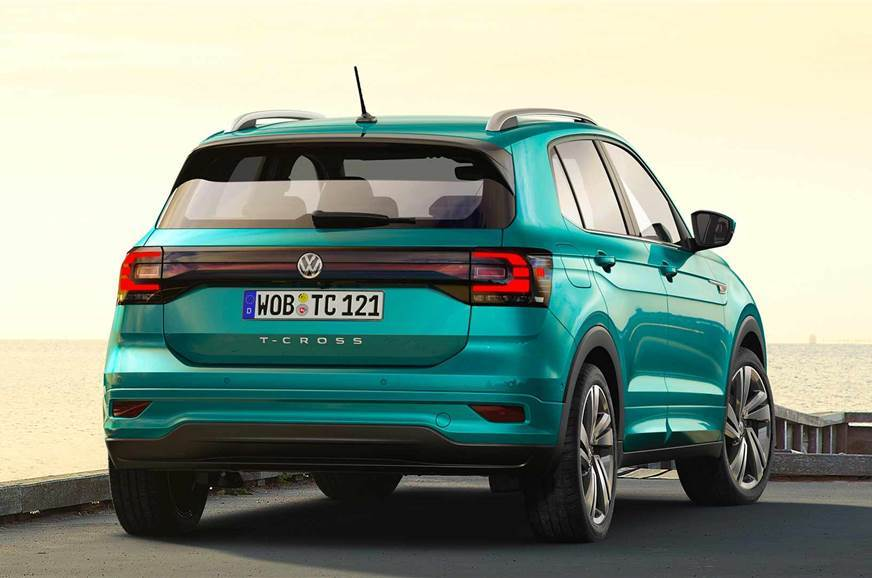 VW T-Cross rear static
