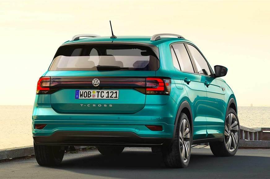 VW T-Cross rear static