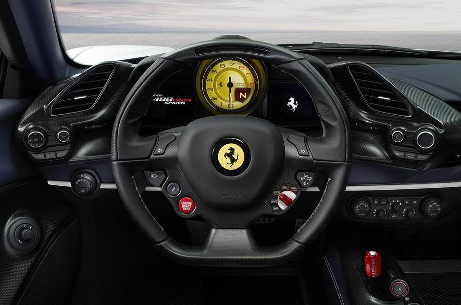 Ferrari 488 Pista Spider revealed at Pebble Beach