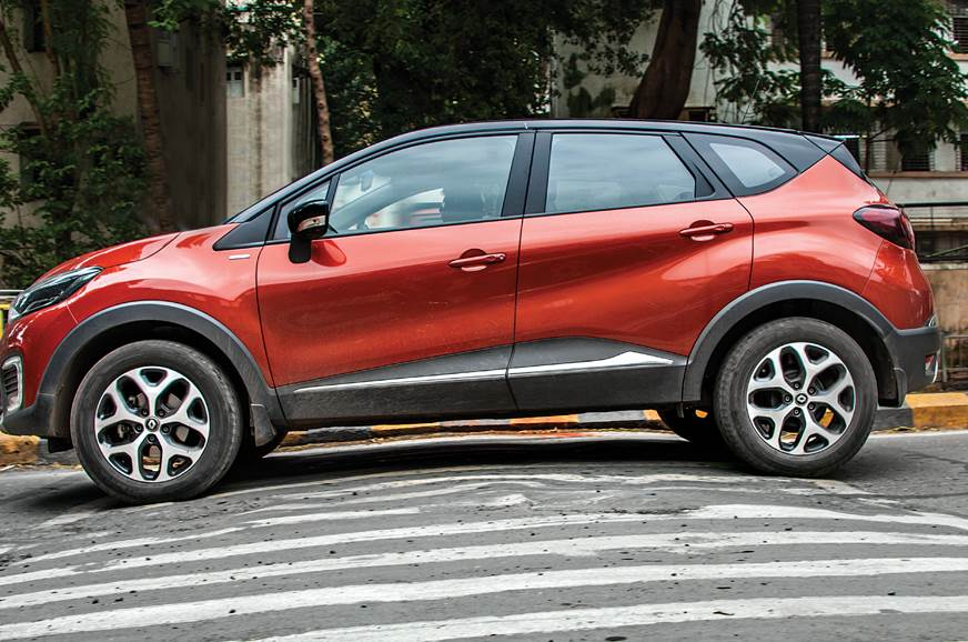 2018 Renault Captur ground clearance