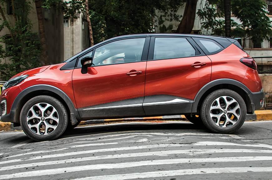 2018 Renault Captur ground clearance