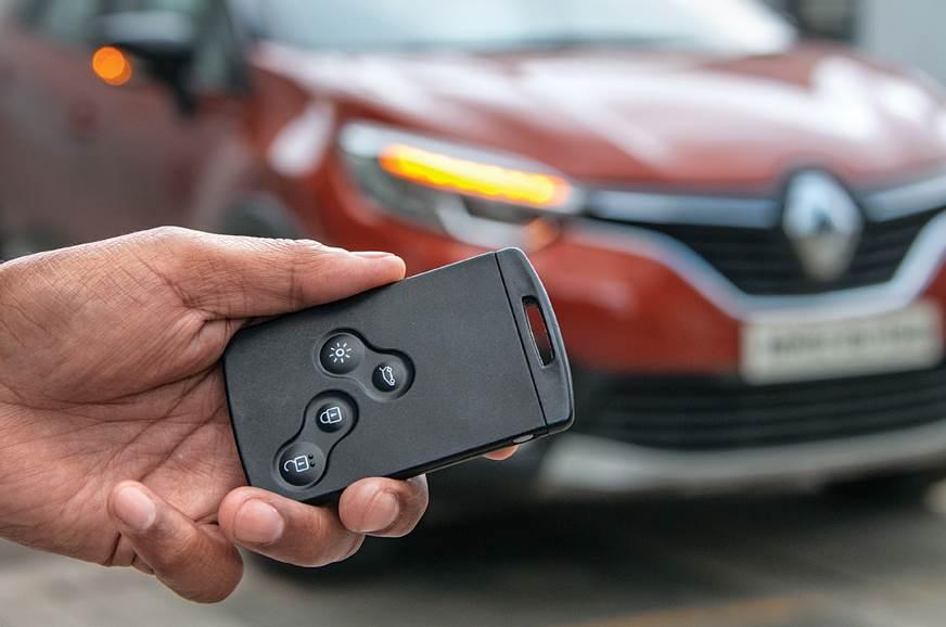 2018 Renault Captur key