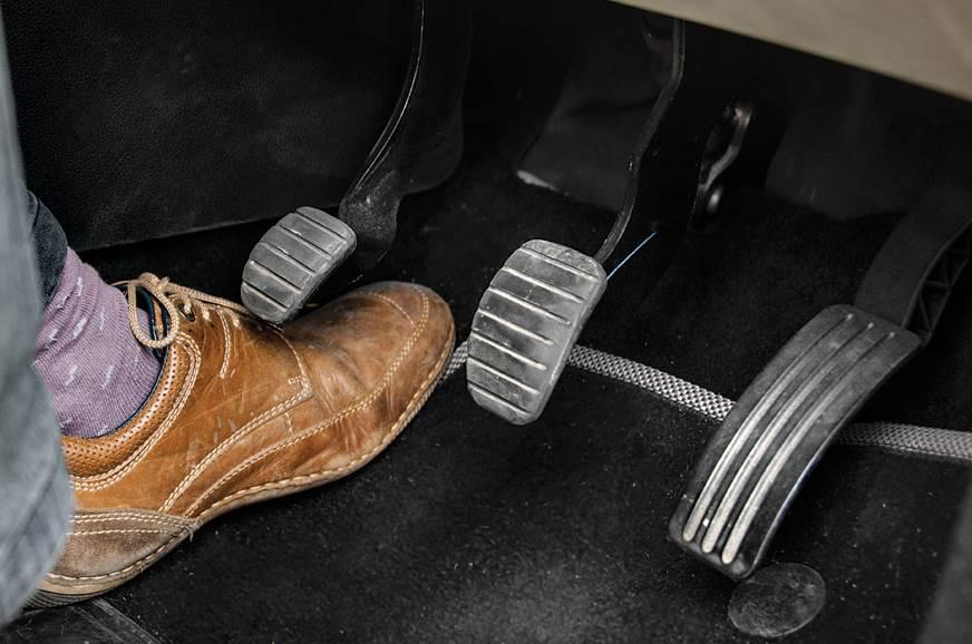 2018 Renault Captur pedals