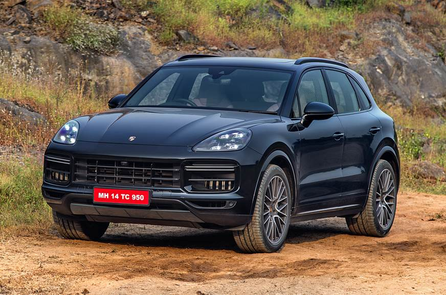 2018 Porsche Cayenne Turbo front static
