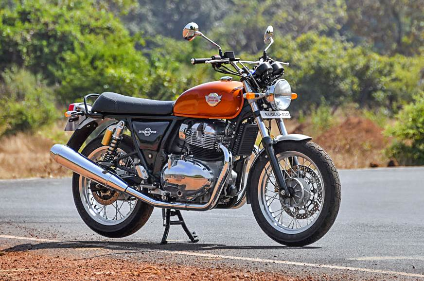 2018 Royal Enfield Interceptor 650 front static