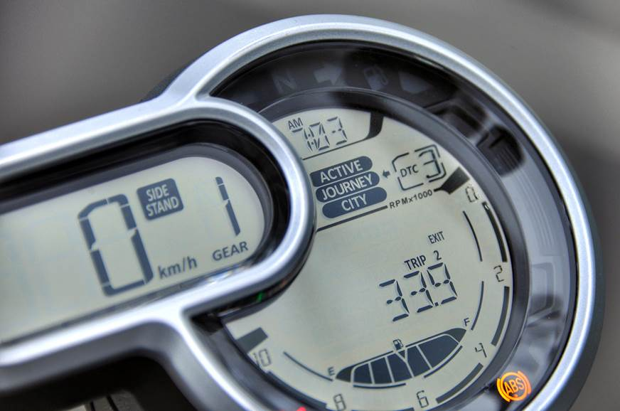 Ducati Scrambler 1100 instrument cluster