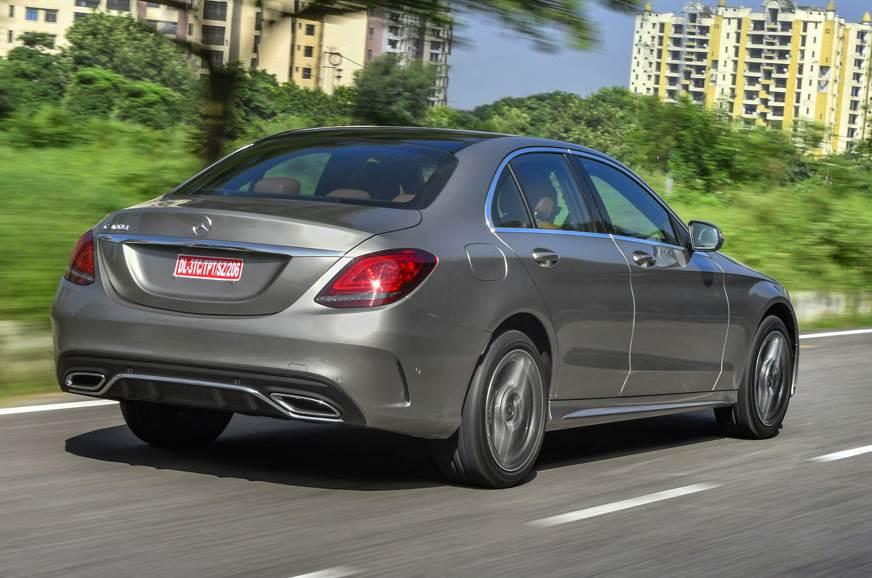 2018 Mercedes-Benz C 300d rear action