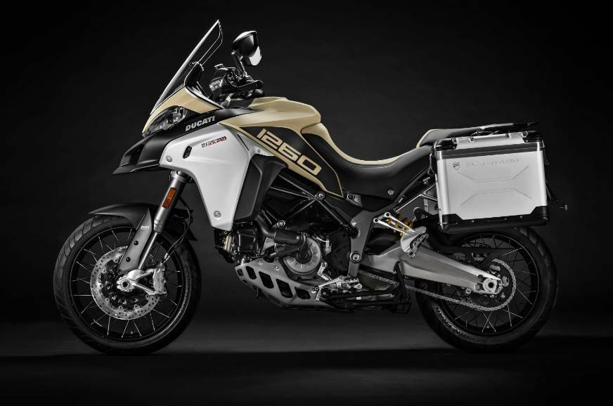 2018 Ducati Multistrada 1260 Enduro side studio