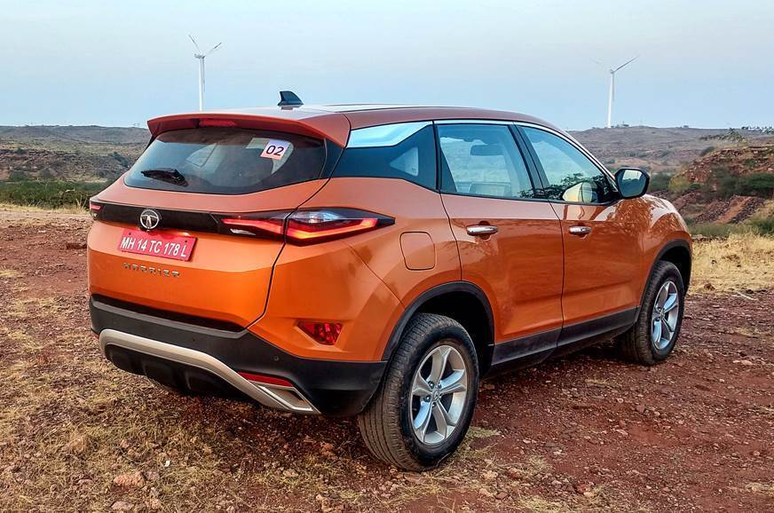 Tata Harrier rear static