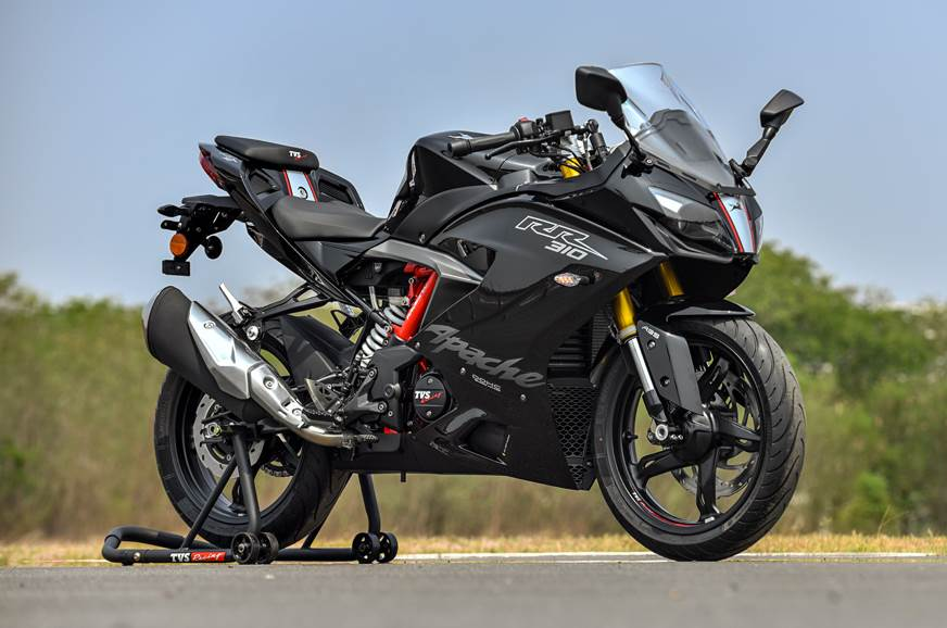 2019 TVS Apache RR 310 front static