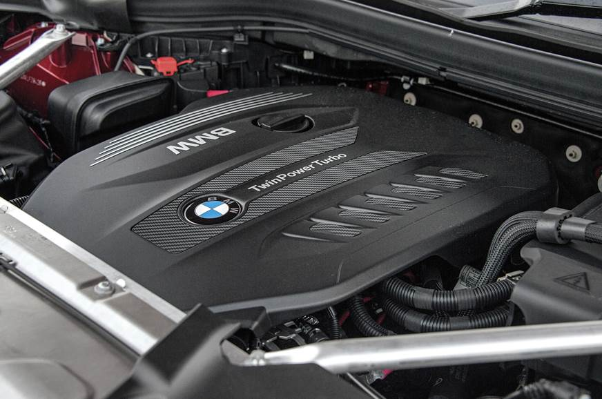 2019 BMW X4 engine
