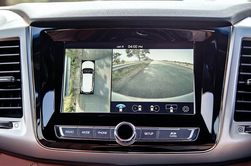 2019 Mahindra Alturas G4 360-degree camera
