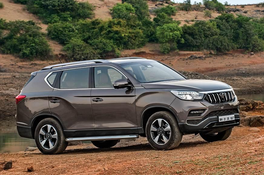 2019 Mahindra Alturas G4 front static