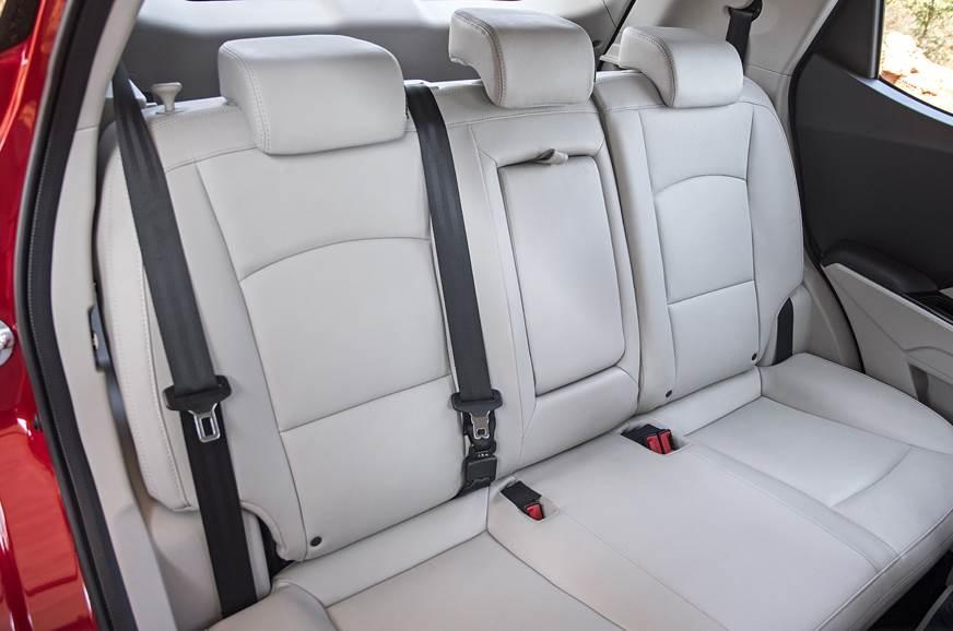 2019 Mahindra XUV300 rear seats
