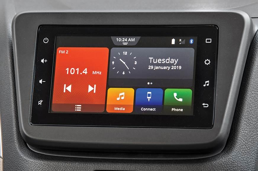 2019 Maruti Suzuki Wagon R infotainment