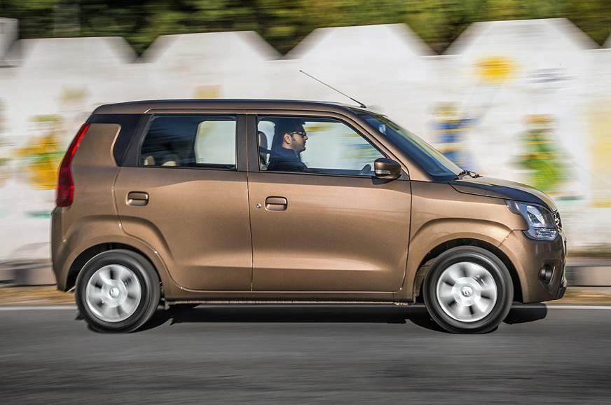 2019 Maruti Suzuki Wagon R side action