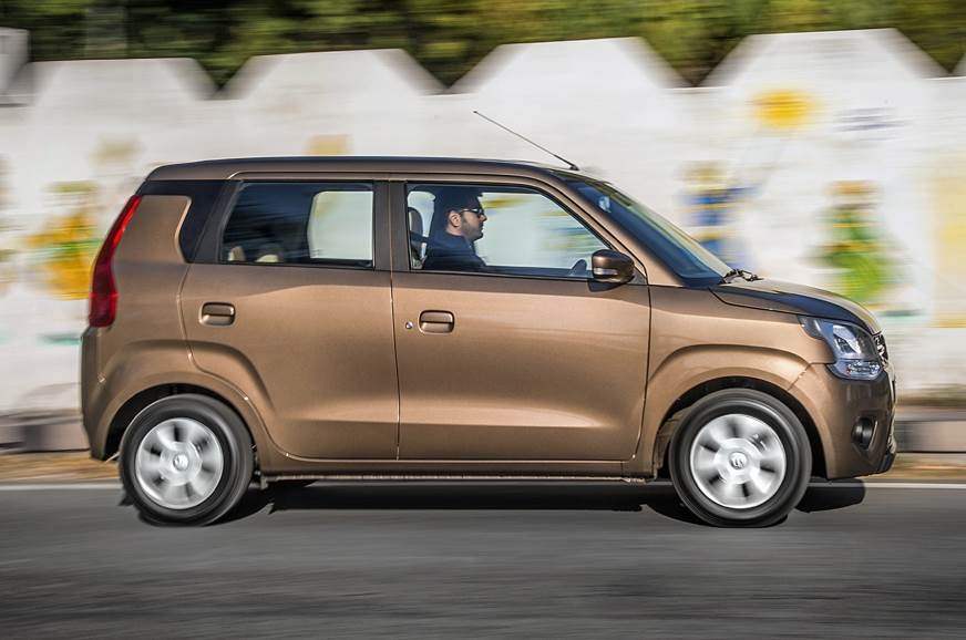 2019 Maruti Suzuki Wagon R side action