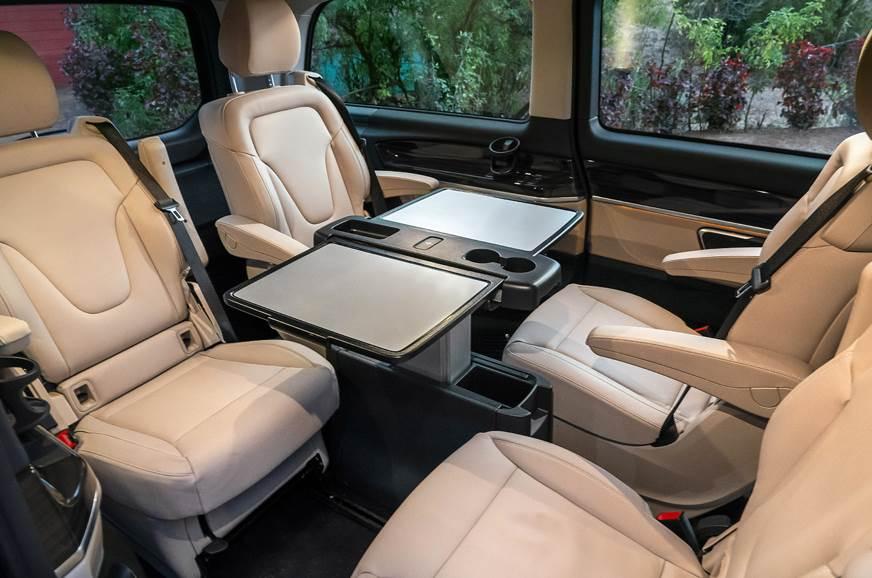 2019 Mercedes-Benz V220d interior six seats