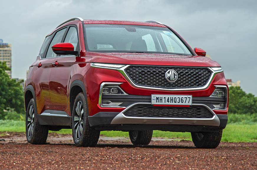 MG Hector petrol-automatic front static
