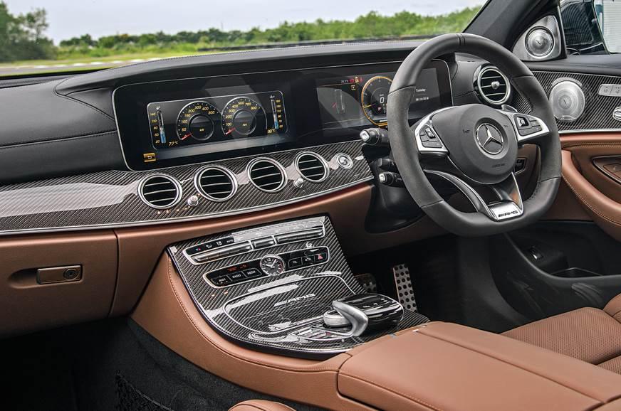 2018 Mercedes-AMG E 63 S interior