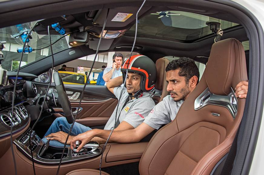 2018 Mercedes-AMG E 63 S Narain Karthikeyan