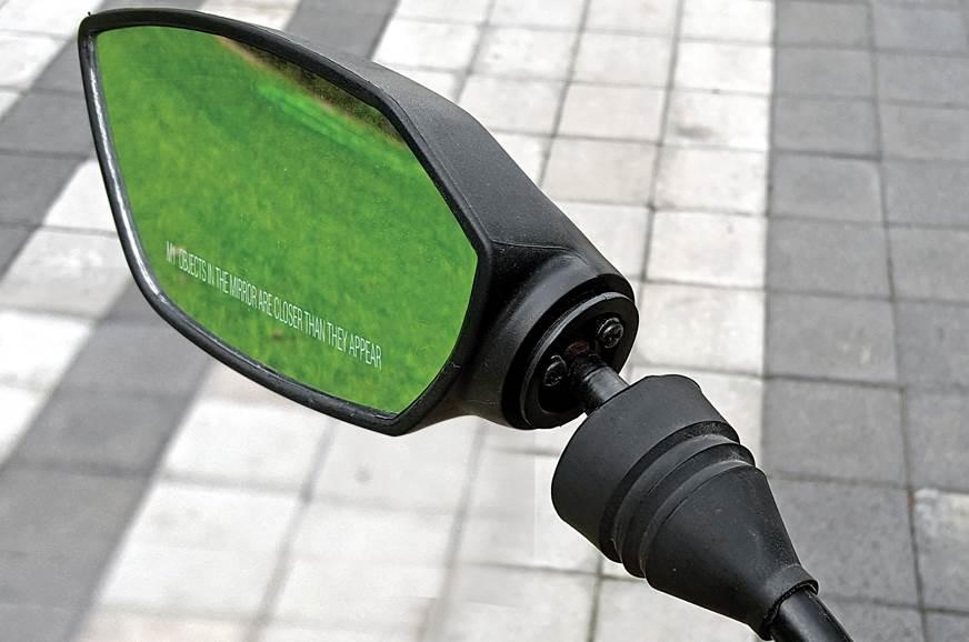 TVS Apache RTR 160 mirror
