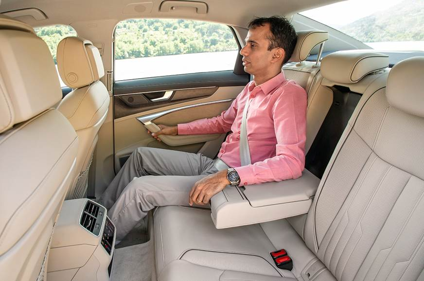 Audi A6 rear seat