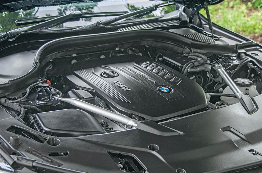 BMW 630d GT engine