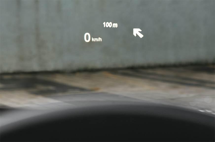 BMW X1 HUD