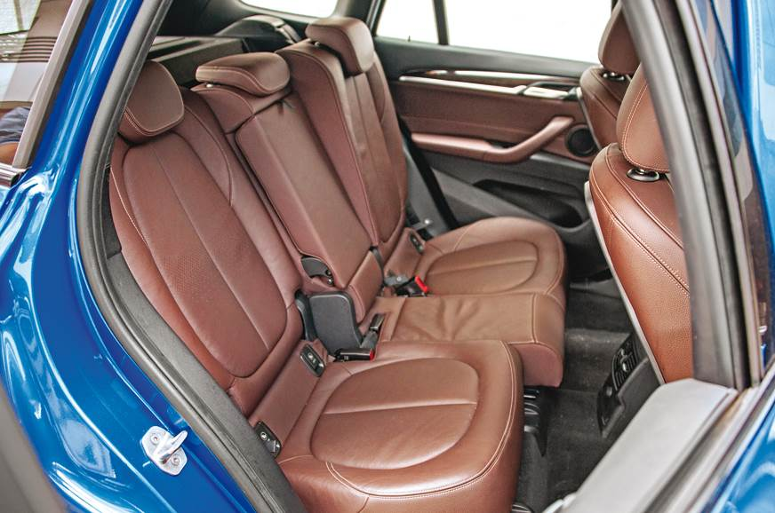 BMW X1 rear seats