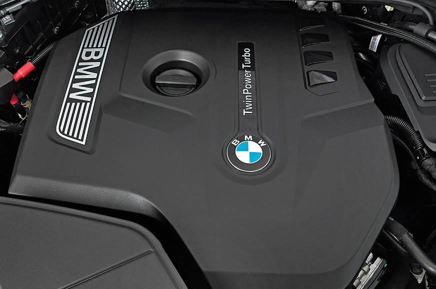 BMW X4 diesel engine