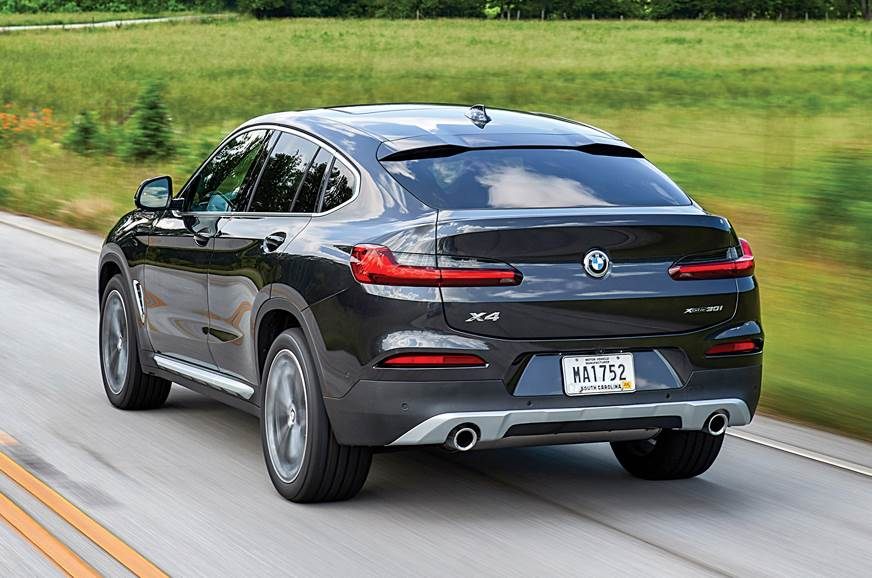 BMW X4 rear action