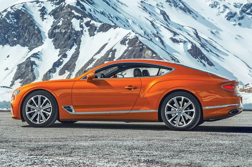 Bentley Continental GT side