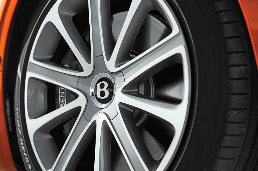 Bentley Continental GT wheel